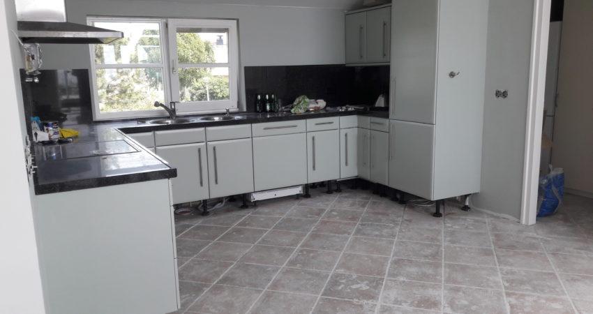 Keuken Renoveren Friesland : Renovatie keuken meubel spuiterij zuidwest friesland