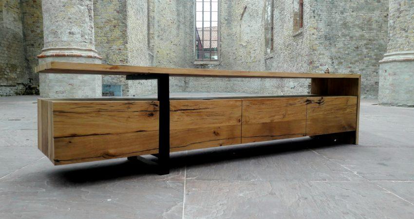 Prachtige Tv Kast.Spuitwerk Voor Eindeloos Design Meubelspuiterij Friesland