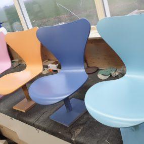 overspuiten stoelen